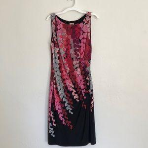 Anne Klein Sleeveless Floral Dress